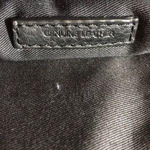 John Varvatos Bags - John Varvatos CarryAll Black Leather Messenger Bag